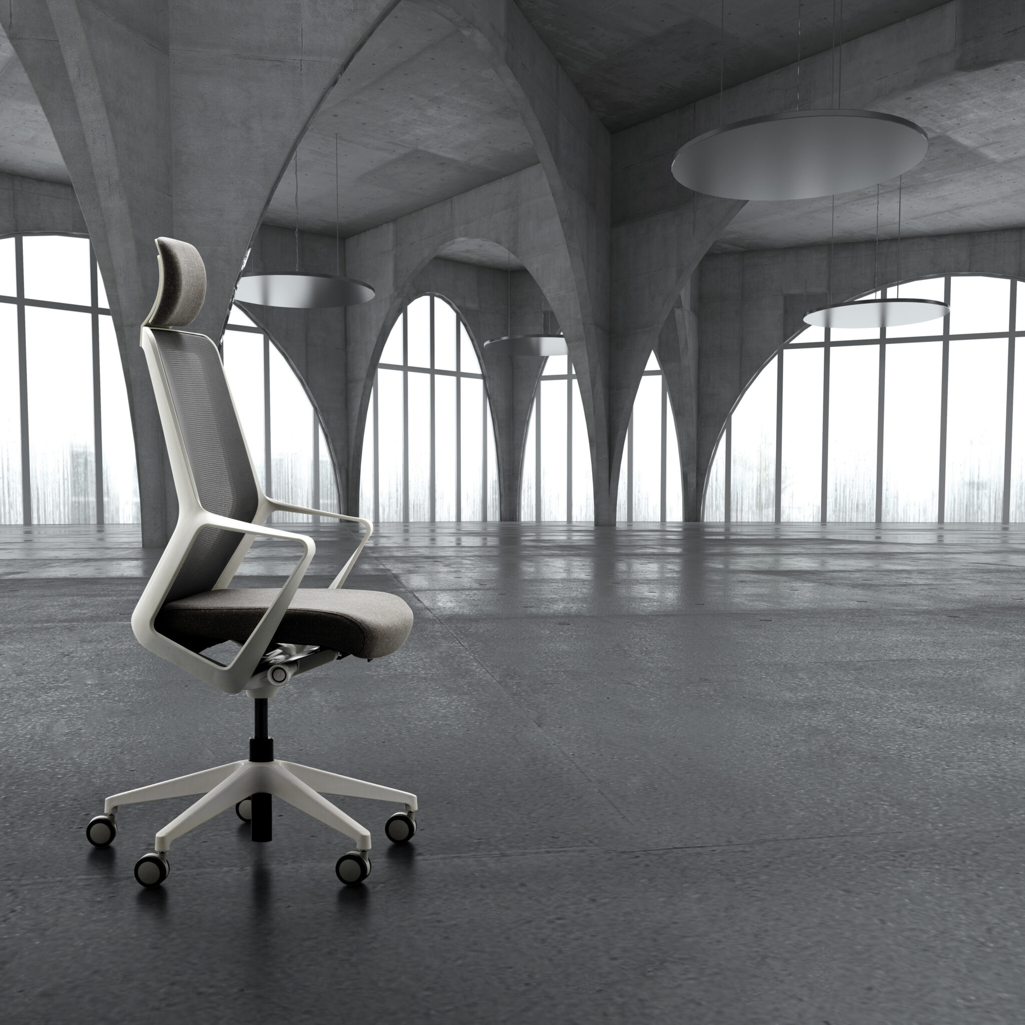 Diane Butterworth COVID-19 Office Space Task Chair Verco Office Furniture coronavirus